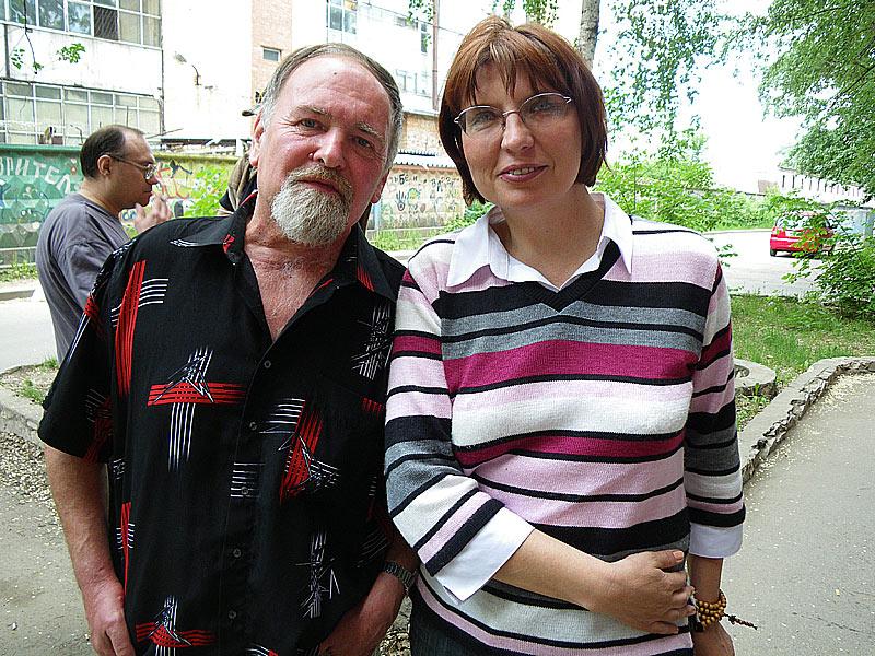 Владимир Тучков, Ирина Саморукова
