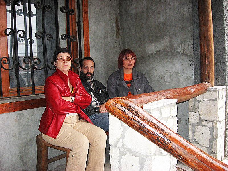 Ирина Тартаковская, Сергей Лейбград, Ирина Саморукова